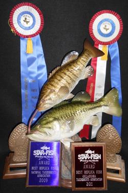 Fish Fiberglass Reproductions, Mounts, Molds & Taxidermy